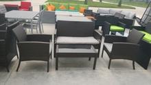 steel rattan sofa Garden furniture wicker furniture YZ-B1001