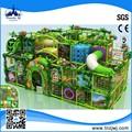 Parc d'amusement jungle à thème enfants aire de jeux couverte pour la vente