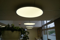 65w High brightness big LED round ceiling panel Lights made in China