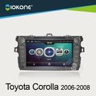 Hot! Touch Screen dashboard Car DVD radio Multimedia GPS navigation for Toyota Coralla Prado Venza Yaris Camry Sienna Verso