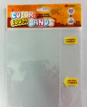 Self Adhesive Opp Bag With Header and 32mm butterfly hole