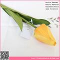 Atacado singel artificail flor tulipa, decoração da flor artificial