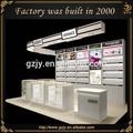 High end e decoração de loja de perfumes, design para a loja de perfumes, perfumes prateleiras