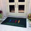 Plush Carpet and Mat / Logo Mat MO-01