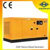 25kva yellow diesel generator,3 phase generators fuel diesel
