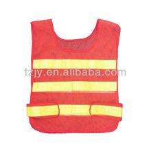 JY red polyester mesh safety vest,reflective safety vest motorcycle