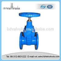 PN10/16 Soft seal gate valve,position indicator gate valve din