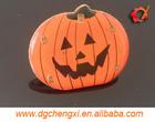 hot fashion LED resin pumpkin design for Halloween outdoor decoration
