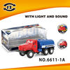 mini oil tank truck with light and sound