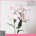 Artificial lírio do hexágono, alta qualidade de flores artificiais& loja de fábrica