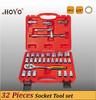 "1/2""Dr. 32PCS Socket Wrench Set/High Quality King Tool Socket Set"
