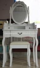 Dresser/Wooden Dresser/ Dressing Table with Chair/Bedroom Dresser