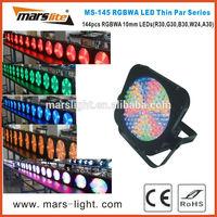 144pcs LED thin par light / led panel par light / led par light