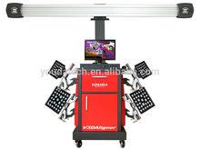 2014 Hot sell 3d Wheel alignment, wheel alignment machine price