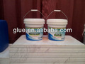 A base de água branca pva adesivo cola para madeira/couro/tecido nowoven, 10l, 15l, 18l, 20l, 25kg, 50kg, 200kg, 1,000kg