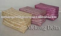 cestino di bambù intrecciato pane