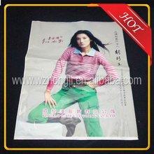 High quality cheap plastic T-shirts shopping bag