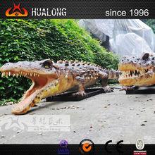 real-size imitate animal model alligator