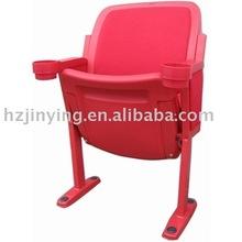 Rouge couleur pliage chaise stade avec tasse holderJY-8207