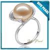 Bud Design 18K Gold Hotsale Pink Freshwater Pearl Ring