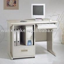 Mobiliário de escritório mesa do computador com a mesa de madeira - placa