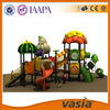 Fun and safe outdoor children playground slide