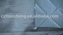 aluminium foil lamiated pe woven fabric