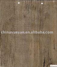 "4mm loose lay pvc flooring plank / wood pvc floor tile 2.5/3.0mm 9""X48"""