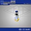 22mm ip40/65/67 10a 660v 1 de ca cerca de lo normal y 1 normal abierto mecánica interruptor eléctrico/interruptor selector rotativo
