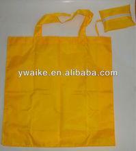easy taken polyester foldable shopping bag