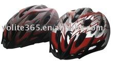 reflective bicyle helmet