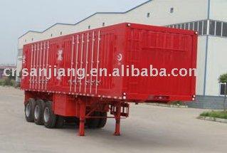 Van transport semi-trailer
