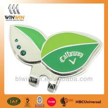magnetic golf ball marker hat clip/clip cap