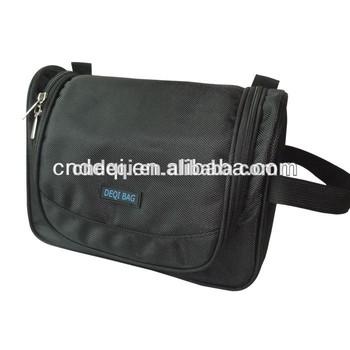 Multi-functional men's travel toiletry bag