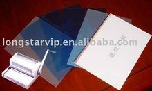 Plastic binding cover (PVC,PET)