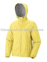 lady yellow winter leather jacket women
