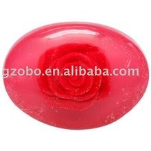 OEM hot 100g rose soap best skin whitening bath soap