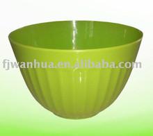 Wholesale plastic containers salad bowl set