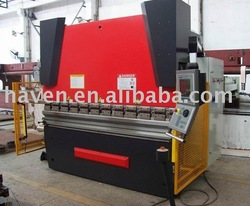 WE67K-63x2500 CNC hydraulic press brake machine tool