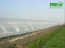 8m single span plastic film tunnel greenhouse