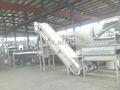 Salsa de manzana/atasco de la línea de producción