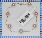 Natural pearls with18K Plating Gold Jewelry