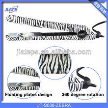 Professional hair straigtener,1.5 inch black ceramic plates ,printing colorful color