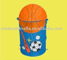 basketball printing pop up hamper