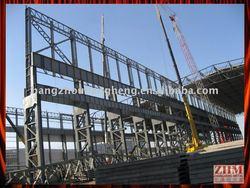 Prefabricated Hot-dip Galvanised Industrial Steel Building