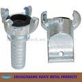 EU/USAart Luft-Schlauch Coupling&Double Schraubbolzen-Schlauchklemme, Greiferkoppler