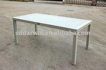 Ikea White Rattan Garden Dining Table SV-2107
