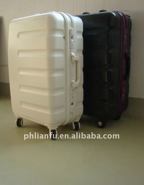 unisex colorful water-proof hot selling 360 4 wheels trolley bags with aluminum frame (LF8001-3 PCS)