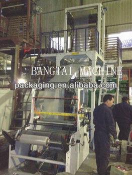rotary die-head film blowing machine