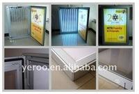 Indoor Exibition Show Ultra Large Ground Advertising Super Bright Slim Light Box Display